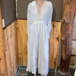 Le Gauze Lace Duster BUY or UFT